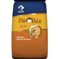 70009AAA46 ADM Pen Pals Chicken Starter/Grower Chicken Feed chicken feed