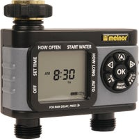 73100 Melnor Hydrologic Day Specific Programmable Water Timer Melnor 2-Zone Day Specific Programmable Water Timer
