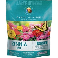 10806-6 Encap All-In-One Zinnia Wildflower Seed Mix seed wildflower