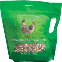 9328 Pecking Order Mealworm & Sunflower Chicken Treat chicken feed