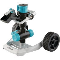 831673-1001 Gilmour Heavy-Duty Impact Sprinkler with Wheel Base impulse sprinkler