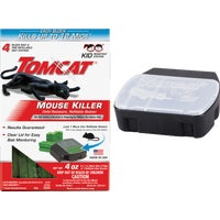 371110 Tomcat Mouse Killer III Refillable Mouse Bait Station bait station
