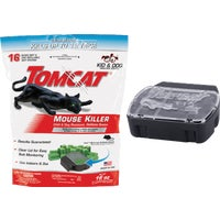 372110 Tomcat Mouse Killer I Refillable Mouse Bait Station bait station