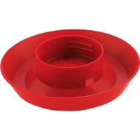 740 Little Giant Screw-On Poultry Waterer Base 740, Plastic Poultry Waterer Bases