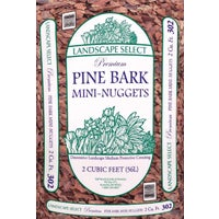 304-LS Landscape Select Pine Decorative Bark Mulch Nuggets 304-LS, Landscape Select Mini Pine Decorative Bark Nuggets