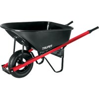 TM6 Truper Homeowner Steel Wheelbarrow TM6, TM6 6 Cu. Ft. Steel Wheelbarrow.