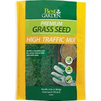 71106 Best Garden Premium Play & High Traffic Grass Seed grass seed
