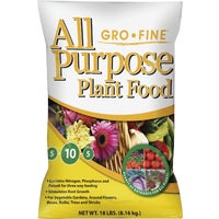 GF40561 Gro-Fine All Purpose Dry Plant Food FRT51.1, Flower And Garden Fertilizer