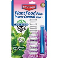 Bayer Advanced 2-in-1 Insect Control Plus Fertilizer Spike advanced bayer fertilizer spikes