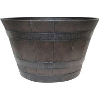 HDR-055464 Southern Patio Traditional Whiskey Barrel Planter HDR-002550, Traditional Whiskey Barrel Planter