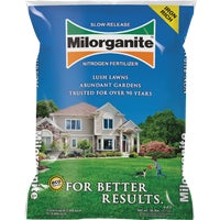 64032 Milorganite Slow-Release Nitrogen Lawn Fertilizer fertilizer lawn milorganite release slow