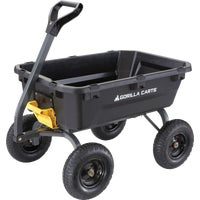 GCG-7 Gorilla Carts Poly Tow-Behind Garden Cart behind cart tow