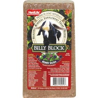 94010 Herdlife Billy Block Supplement Treat Mineral Block block mineral