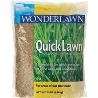 70203 Wonderlawn Quick Lawn Grass Seed grass seed