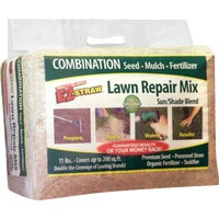 MLEZLRM11SUNSHD40 EZ Straw Organic Lawn Repair Mix