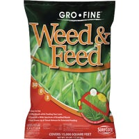 GF23339 Gro-Fine Weed & Feed Lawn Fertilizer with Weed Killer FRT223DS5.1, Fortify Weed & Feed Lawn Fertilizer with Weed Killer