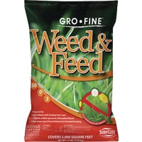 GF23329 Gro-Fine Weed & Feed Lawn Fertilizer with Weed Killer FRT223DS1.2, Fortify Weed & Feed Lawn Fertilizer with Weed Killer
