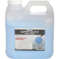 222 Crystal Blue Copper Sulfate Smart Crystals Moss & Algae Killer 222, Crystal Blue Copper Sulfate Smart Crystals Moss & Algae Killer