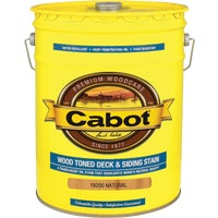 140.0019200.008 Cabot VOC Wood Toned Deck & Siding Exterior Stain exterior stain