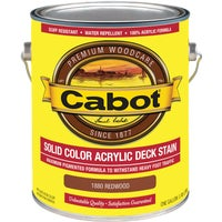 140.0001880.007 Cabot Solid Color Acrylic Deck Stain deck stain