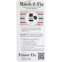 MF-1 Fixture-Fix Match-A-Fix Porcelain Finish Custom Color Match Kit a fix fixture match