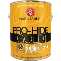 0000Z8380-16 Pratt & Lambert Pro-Hide Gold Ultra Latex Semi-Gloss Interior Wall Paint 0000Z8380-16, Pratt & Lambert Pro-Hide Gold Ultra Latex Semi-Gloss Interior Wall Paint