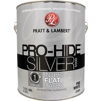 0000Z5389-16 Pratt & Lambert Pro-Hide Silver 5000 Latex Flat Interior Wall Paint 0000Z5389-16, Pratt & Lambert Pro-Hide Silver 5000 Latex Flat Interior Wall Paint