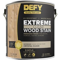 300164 DEFY Extreme Transparent Exterior Wood Stain deck stain