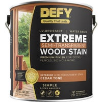 300158 DEFY Extreme Semi-Transparent Exterior Wood Stain deck stain