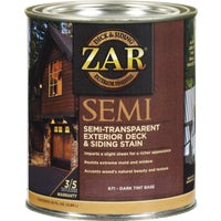 67112 ZAR Semi-Transparent Exterior Deck & Siding Stain deck stain