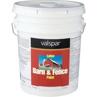 018.3125-10.008 Valspar Latex Paint & Primer In One Flat Barn & Fence Paint barn paint