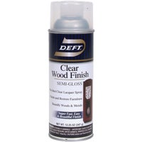 DFT011/54 Deft Clear Wood Finish Interior Spray Lacquer lacquer spray