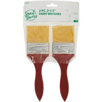 777933 Smart Savers 2-Piece 2-1/2 In. Polyester Paint Brush Set savers smart