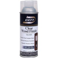DFT010/54 Deft Clear Wood Finish Interior Spray Lacquer lacquer spray