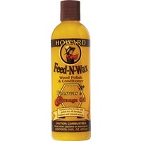 FW0016 Howard Feed-N-Wax Wood Polish polish wood