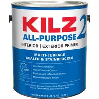 20041 KILZ 2 Latex Interior/Exterior Sealer Stain Blocking Primer exterior interior stain