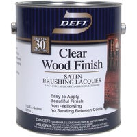 DFT017/01 Deft Interior Lacquer, Clear Wood Finish DFT017/01, Deft Interior Lacquer, Clear Wood Finish