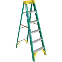 5906 Werner Type II Fiberglass Step Ladder ladder step
