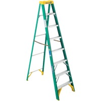 5908 Werner Type II Fiberglass Step Ladder ladder step