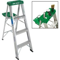 354 Werner Type II Aluminum Step Ladder ladder step