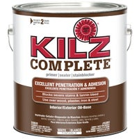 L101311 KILZ Complete Oil-Base Interior/Exterior Sealer Stain Blocking Primer exterior interior stain