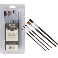 790257 Best Look 5-Piece Artist Brush Set artist best brush look