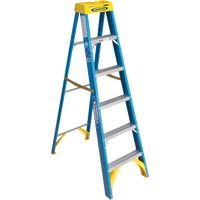 6006 Werner Type I Fiberglass Step Ladder ladder step