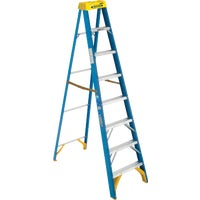 6008 Werner Type I Fiberglass Step Ladder ladder step