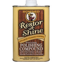 RS0016 Howard Restor-A-Shine Polishing Cream Wood Polish polish wood