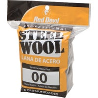 322 Red Devil 8-Pack Steel Wool devil red steel wool