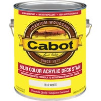 140.0001812.007 Cabot Solid Color Acrylic Deck Stain deck stain
