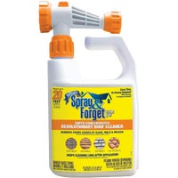 SFRCHEQ06 Spray & Forget Concentrated House & Deck Mold & Mildew Cleaner Hose End Sprayer SFSRC-6Q, Spray & Forget Super Concentrated Roof Mold & Mildew Cleaner Hose End Sprayer