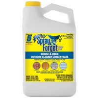 SFDCH04 Spray & Forget Deck & House Outdoor Cleaner Concentrate Mold Stain Remover SFHD64OZ-4, Spray & Forget Deck & House Cleaner Mold Stain Remover