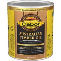 140.0003400.005 Cabot Australian Timber Oil Translucent Exterior Oil Finish 140.0003400.005, Cabot Australian Timber Oil Translucent Exterior Oil Finish